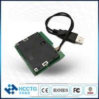 Móvil EMV ISO 7816 módulo Otg IC Chip lector de tarjeta inteligente escritor MCR3521-M