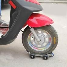 Extractor de rueda de neumático plano Universal para motocicleta, elevador de remolque grande, ayuda de emergencia eléctrica, transportador de autorescate con 5 ruedas