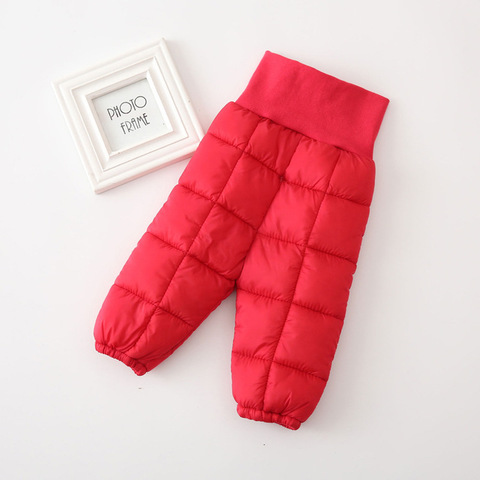 2019 bebe meninas calcas infantis quente para baixo algodao da crianca calcas menino calcas de