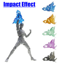 Plastic Tamashii Schroef Impact Effect Model Kamen Rider Figma SHF Action Figure Kick Speelgoed Speciale Effect Actie Toy Figures