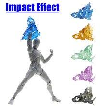 פלסטיק Tamashii בורג אפקט השפעת מודל קאמן רוכב Figma SHF פעולה איור בעיטת צעצועי מיוחד אפקט פעולה צעצוע דמויות