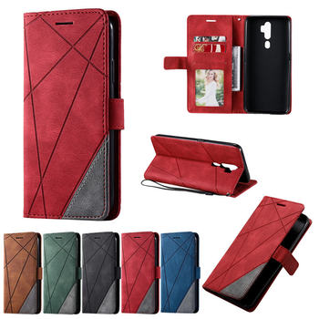 Retro Flip Wallet Luxury Book Phone Case For OPPO A5 A 5 2020 Magnet Shockproof PU Leather Cover for OPPO A9 A 9 2020 Etui