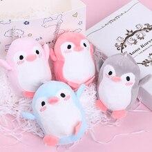 1 шт. милые девушки 12 см мягкая игрушка-Пингвин плюшевая игрушка для малышей подарок на брелок плюшевые игрушки куклы разные цвета