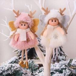 2020 New Year Gift Cute Christmas Angel Doll Xmas Tree Ornament Noel Deco Christmas Decoration for Home Natal Navidad 2019 Decor 2