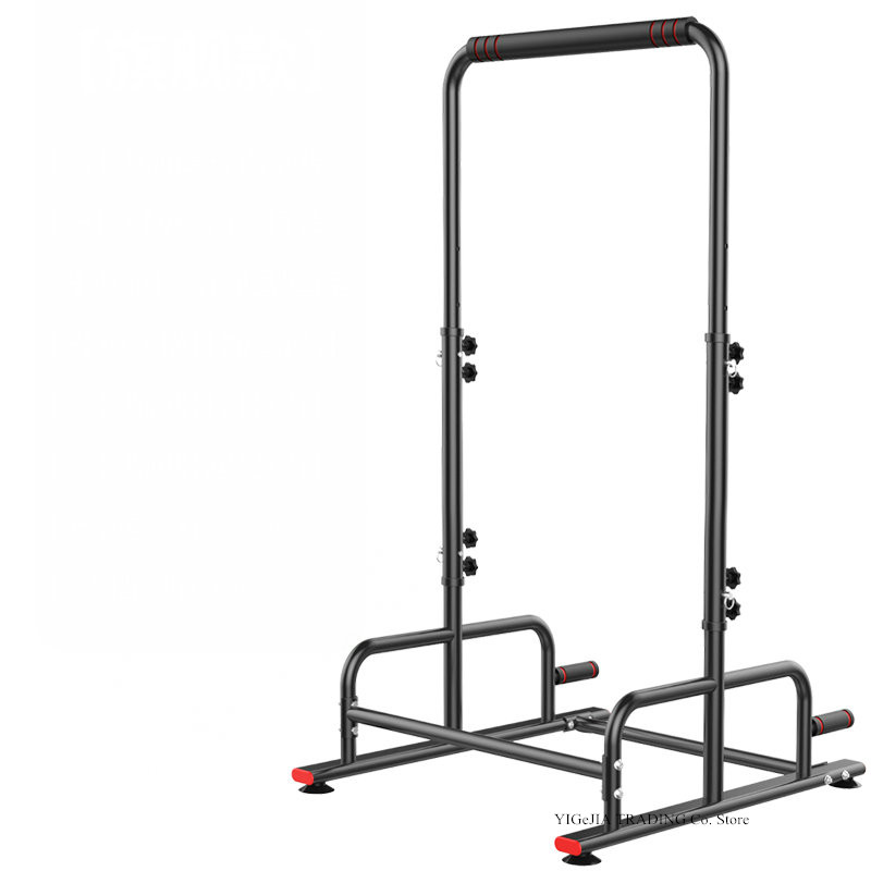 Home Gym Adjustable Multi-Functional Fitness Strength Training Equipment Stand Workout Station, 5 Grade Adjust Pull-up