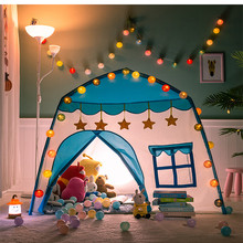 Kids Tent Ball Pool Tipi Child Folding Play Tent House For Kids Indoor Princess Castle Mosquito Net Children's Tent Gifts