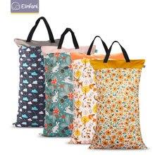Elinfant 1 шт большой подвесной влажный/сухой мешок для тканевых