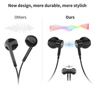 Image 4 - Usb tipo c google chip fones de ouvido magnético esportes estéreo fone com controle com fio para huawei p30 companheiro 20 pro xiaomi 8 samsung