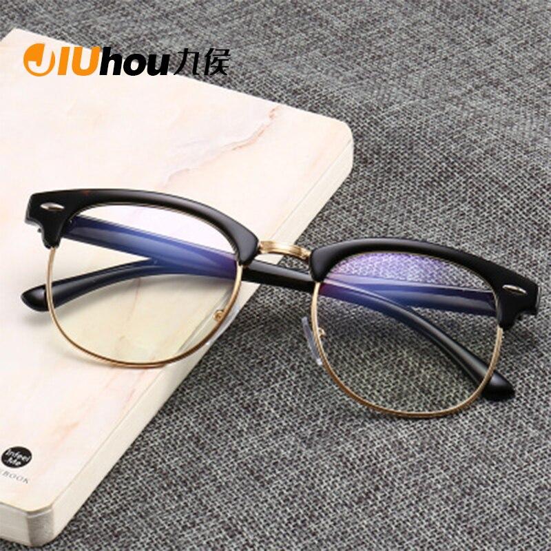 Women Blue Light Blocking Spectacles Anti Eyestrain Decorative Glasses Light Computer Radiation Protection Eyewear