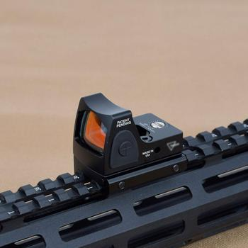 Mini RMR Red Dot Sight Scope Adjustable Collimator Pistol Rifle Reflex Sight Fit 20mm Rail For Hunting Airsoft Optics Sight 2