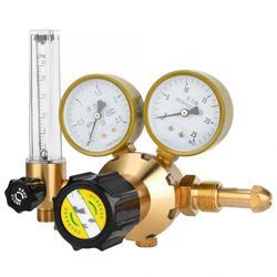 Miedziany regulator gazu reduktor ciśnienia gazu do tlenu azot dwutlenek węgla G5/8 CGA580 WX 566 do zastosowań przemysłowych|Manometry|   -