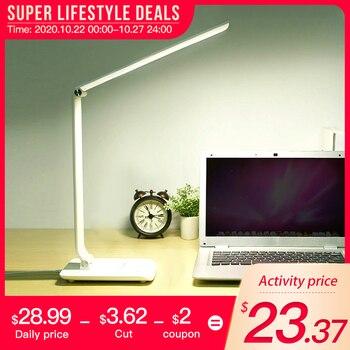 LED table lamp led desk lamps flexo flexible office light bureaulamp Cold/Warm Light