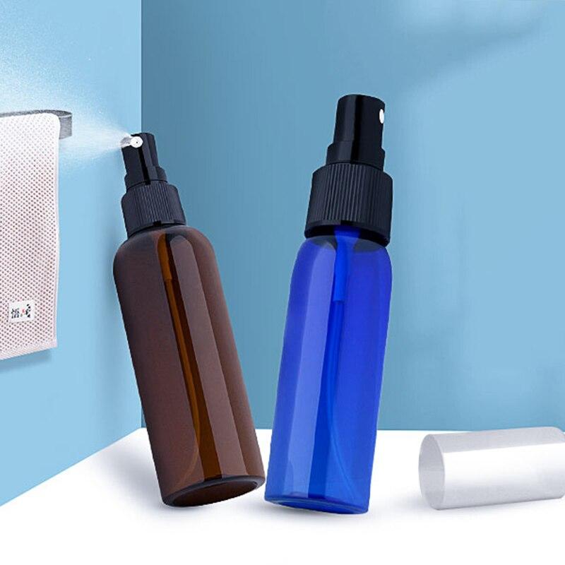 8Pcs 30+50ml Empty Spray Bottle Hand Sanitizer Soap Refillable Bottle Home Bathroom Split Spray Container Press Liquid Bottle