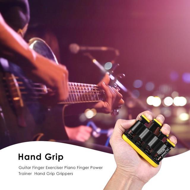 Hand Grip Finger Trainer Strengthener Adjustable Power Training Home Fitness Equipment Piano Guitar Finger Exerciser Trainers 2