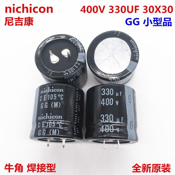 1-10pcs 100% Orginal New 400V330UF 30X30 330UF 400V 30x30 Electrolytic Capacitance