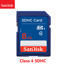 100% Original SanDisk 8GB SD Card Class 4 SDHC Speicher karte 8GB C4 carte sd für Kamera Unterstützung offizielle Überprüfung