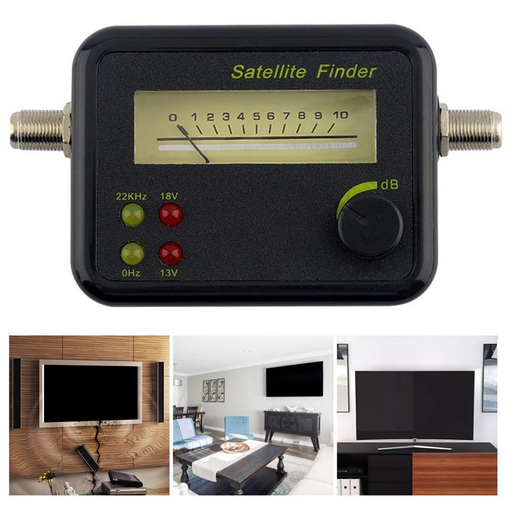 Satellite Signal Finder Meter Tester TV Receiver Excellent Sensitivity GSF-9504