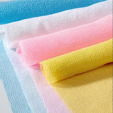 3Pcs Nylon Mesh Bath Shower Body Washing Clean Exfoliate Puff Scrubbing Towel Wash Cleaning Tool FBS889 Multan
