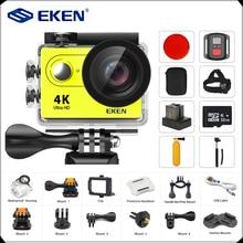"Екеn H9/H9R действие Камера Ultra HD 4 K/25fps Wi-Fi 2,"" 170D шлем Подводные Камера водонепроницаемый Cam Спорт Камера"