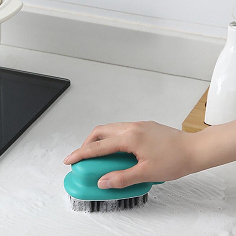 Подвесная маленькая щетка с мягкой щетиной для домашнего мытья