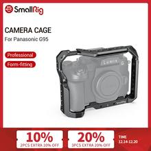 SmallRig G95 Dslr Cage for Panasonic G95 Camera Cage With Cold Shoe Mount & NATO Rails Video Shooting Quick Release Cage  2446