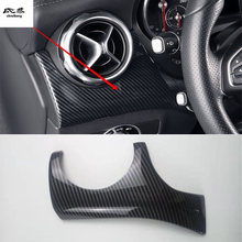 Housse de décoration latérale en fibre de carbone ABS, 1 pièce, pour Mercedes Benz GLA CLA classe A 2015 2017 W176 X156 C117 X117, 200 – 220