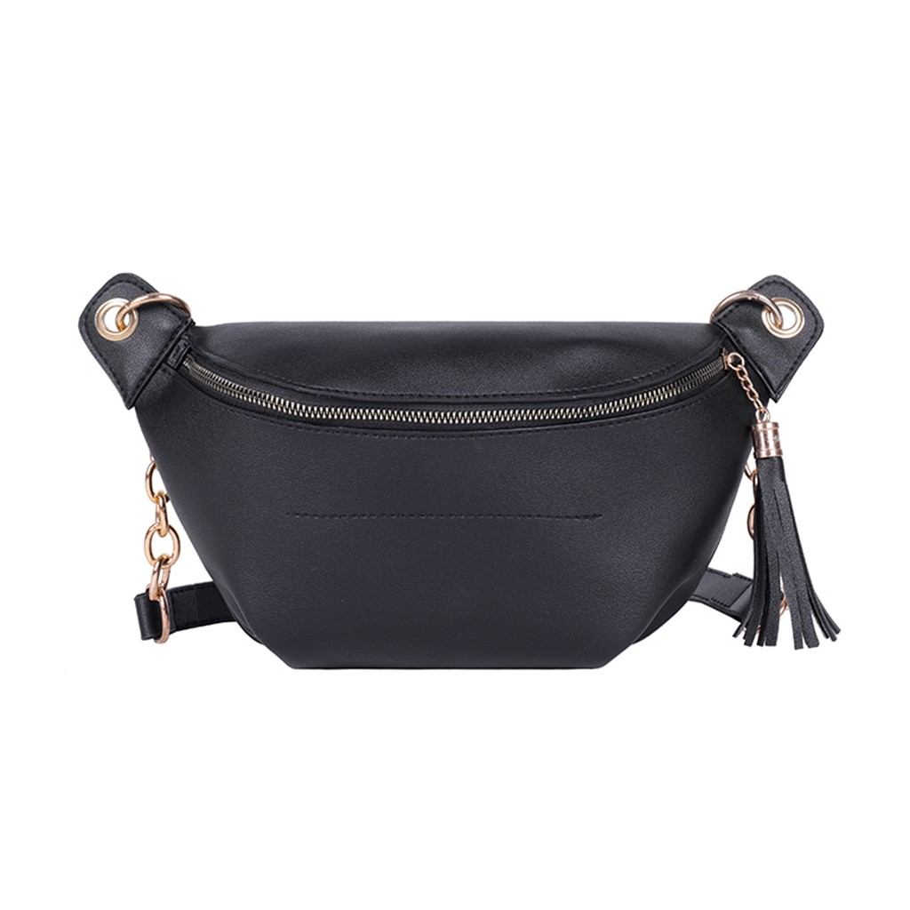 New Women Bag Small Pack Wild Messenger Bags Fashion One Shoulder Chain  Plaid Chest Bag Zipper Casual Crossbody Bags 2019