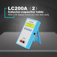 Digital LCD Capacitance LC Meter LC200A Inductive Inductance Tester Inductor Capacitor Table 1pF 100mF 1uH 100H with Adapter
