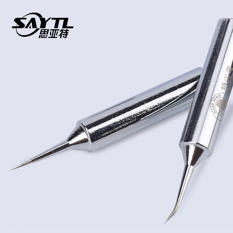 SAYTL Sharp Solder Iron Head Tips 900m-T Welding Tool Replacement Soldering Bit Welding Tool For DIY Rework Replacement For 936