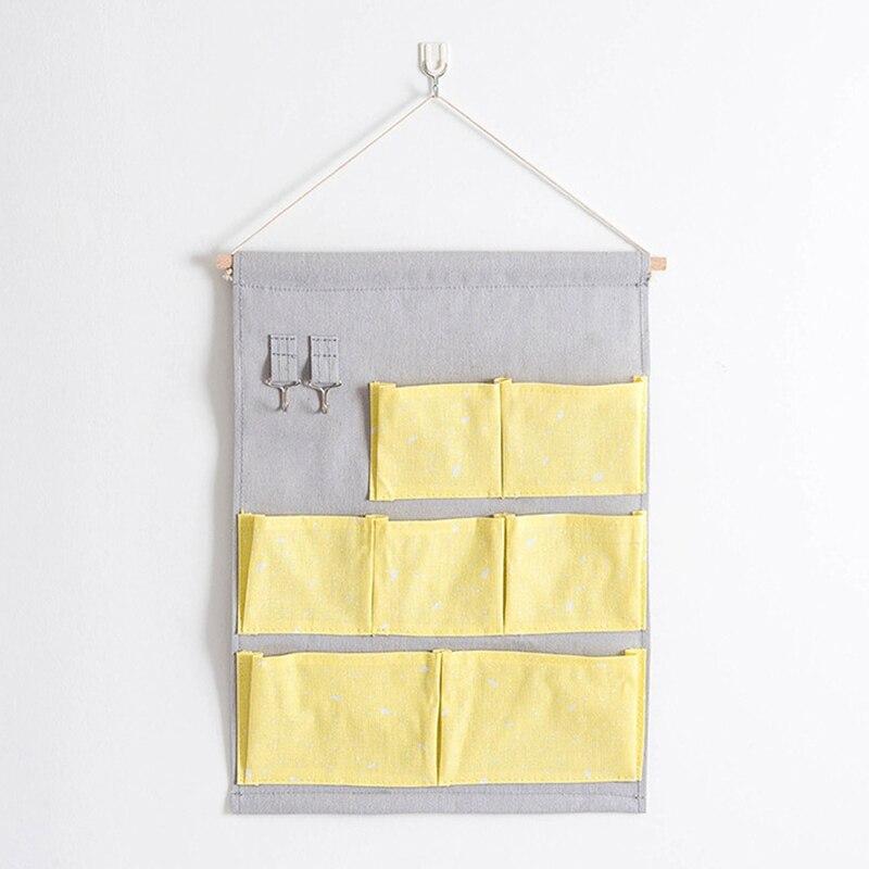 Carttoon настенная подвесная сумка для хранения в скандинавском стиле, органайзер для детской кроватки, декор для детской комнаты, детская игрушка, сумка для хранения подгузников, Домашний Органайзер - Цвет: 20