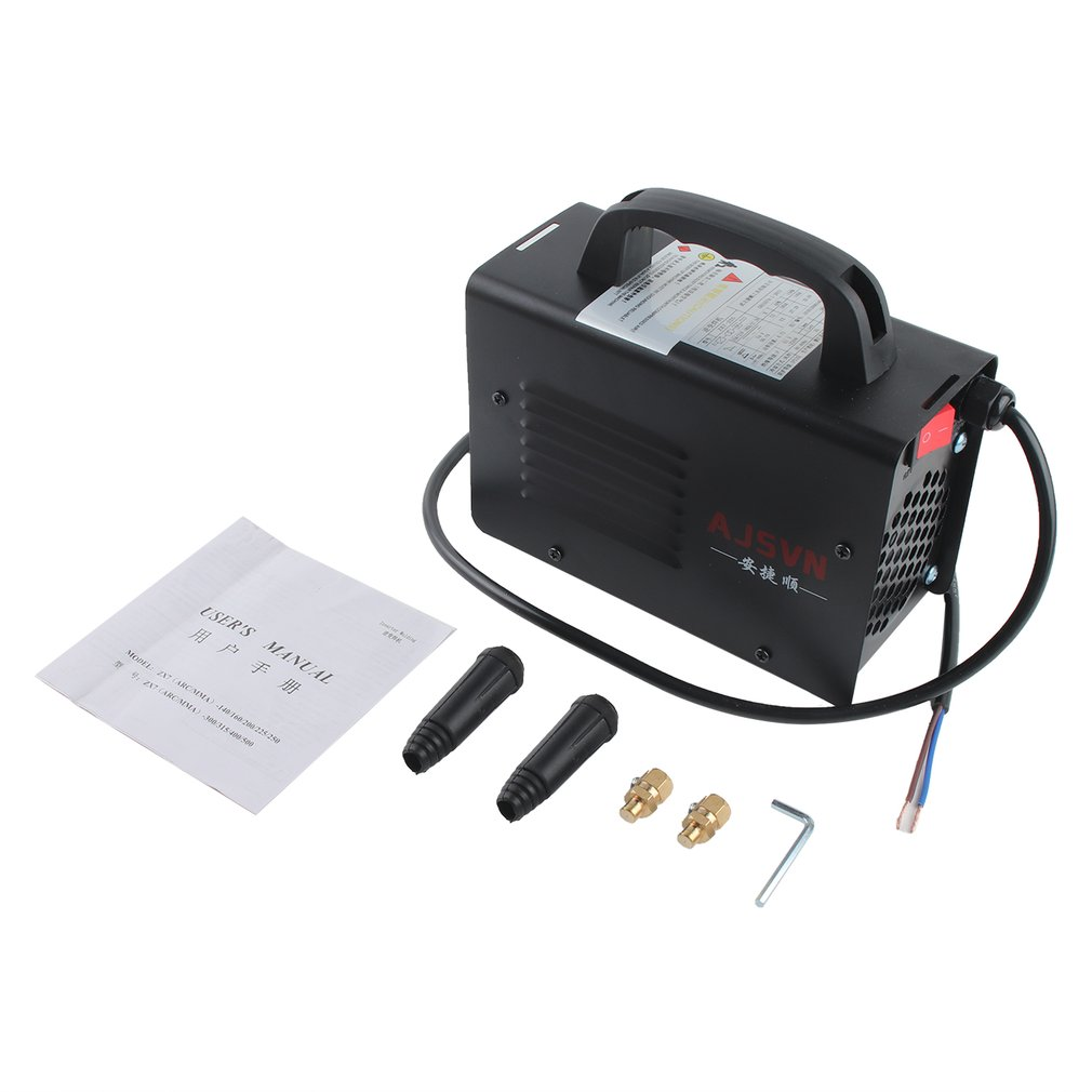 220V Adjustable Handheld IGBT Inverter Electric Arc Welder Welding Machine Digital Display Mini Portable Welding Tool