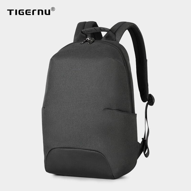 Tigernu nouveau Design de mode Anti-vol RFID 15.6 pouces ordinateur portable hommes sac à dos grande capacité poids léger voyage école sac à dos sacs