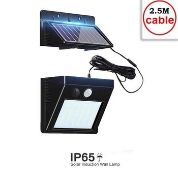 цена на 30 LEDs Solar light PIR Motion Sensor Solar Power night lamp LED Garden Light Outdoor Security Solar Wall Lamp Waterproof indoor