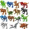 MOC Building Block Jurassic Scene Dinosaur Assembly Animals Model Accessories Kids Toys