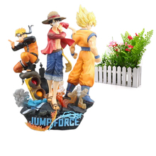 Amine Jump Force Dragon Ball Z ONE PIECE Naruto PVC Action Figure Luffy Son Goku Figurine Toy Uzumaki Model