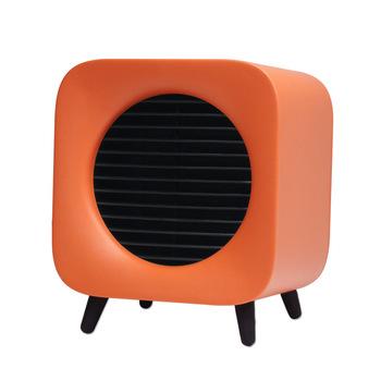 ITAS1382 Mini pulpit cieplej ceramiczne ogrzewanie domowe biuro cieplej sezonowy mały sprzęt agd cieplej tanie i dobre opinie NoEnName_Null Convector heater 800 w Sypialnia Salon Przenośne Wolnostojące Rohs Regulowany termostat Zabezpieczenie przed przegrzaniem