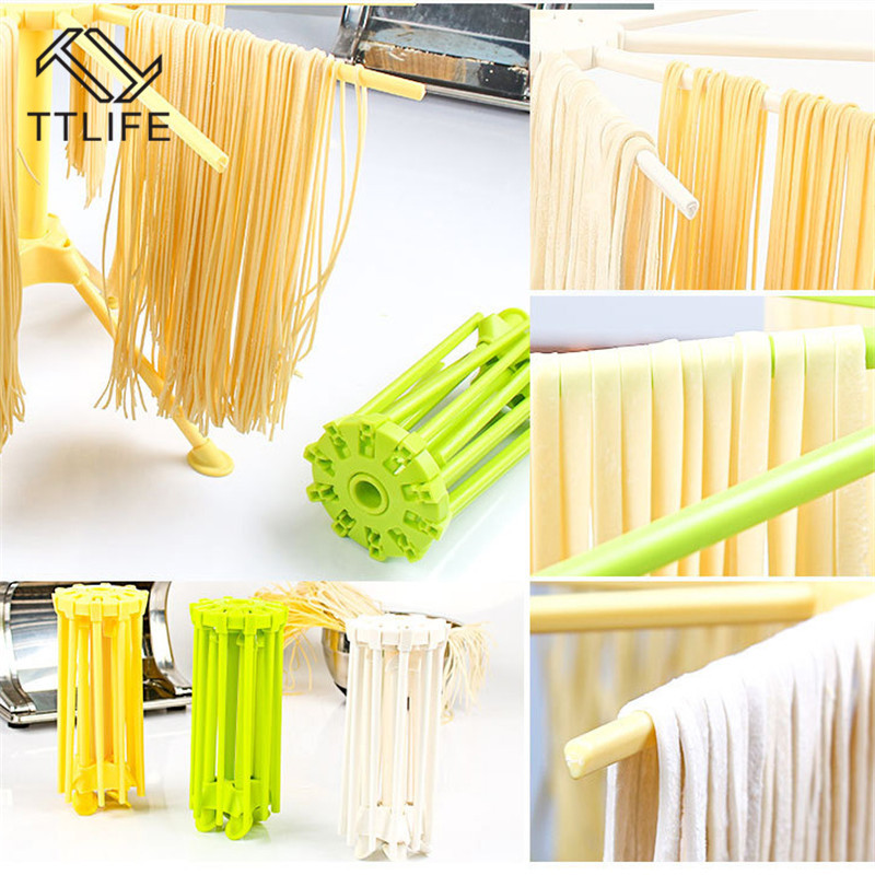 Foldable Pasta Drying Rack Spaghetti Dryer Stand Noodles Drying Holder Hanging Rack Pasta Cooking Tools Kitchen Accessories image