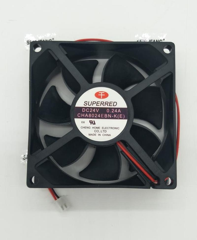 For CHA8024EBN-K (E) 8025 24V 8cm 0.24A Inverter Cooling Fan Free Shipping