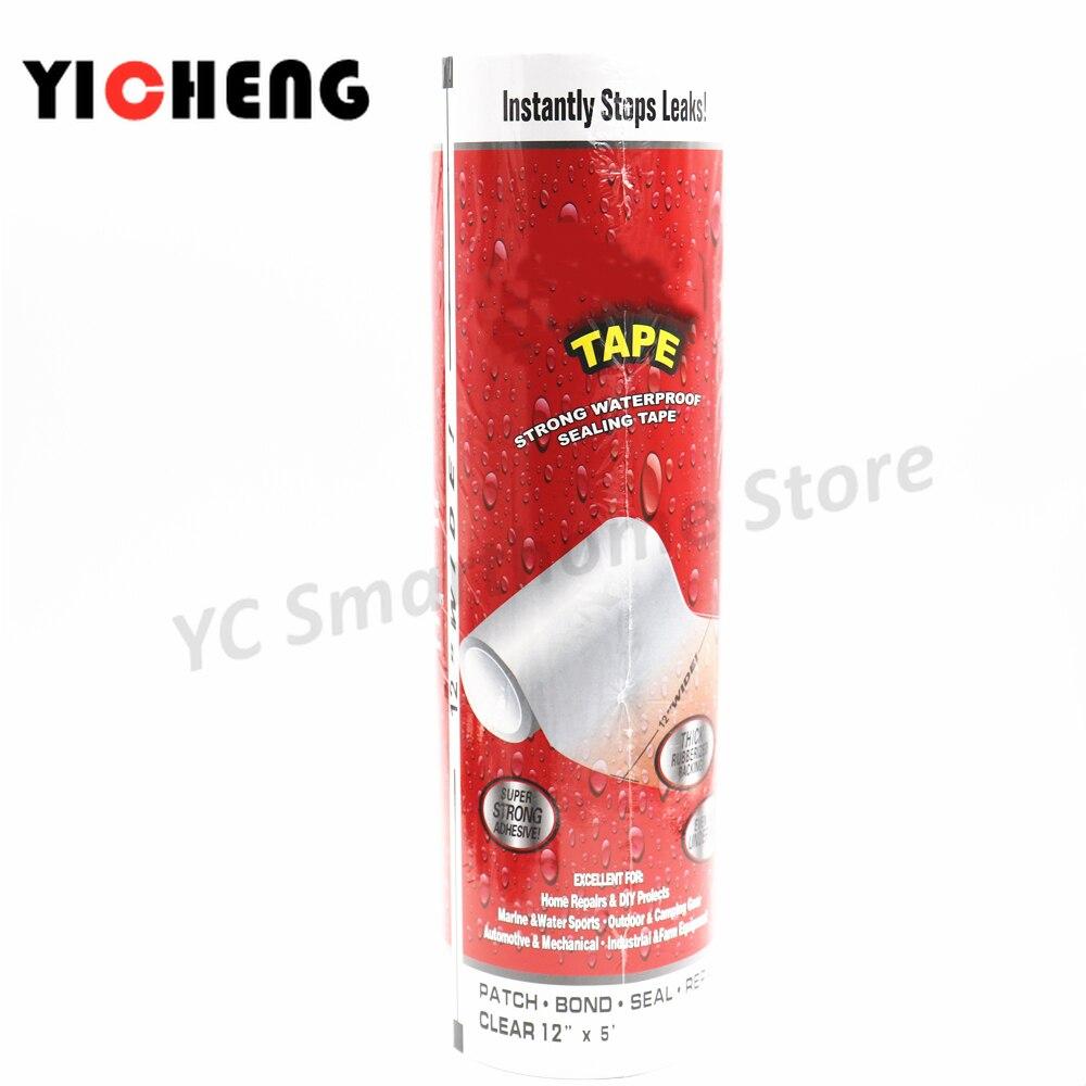 Flex tape special strong leak-proof waterproof tape strong adhesive tape tape water pipe plugging repair tape 1.52M length