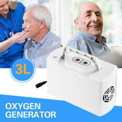 Mini concentrador de oxígeno portátil hogar coche recargable generador de oxígeno máquina inhaladora batería oxigenerador purificadores de aire