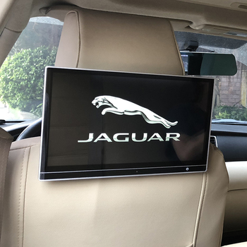 Wifi Bluetooth Android Car TV Headrest Monitor With Video Player For Jaguar E-PACE F-PACE F-Type S-Type X-Type X XF XJ XK XL XFL 1pcs 3d metal car rear trunk fender badge emblem sticker for jaguar xf xfl xj xjl xk s type x type sport logo car accessories