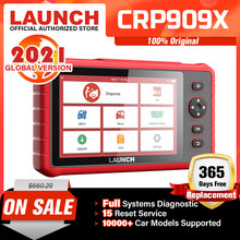 LAUNCH X431 CRP909X OBD2 Scanner Full System Code Reader wifi Diagnostic Tool OBD Automotive Tool TPMS IMMO Diagnostic Scanner