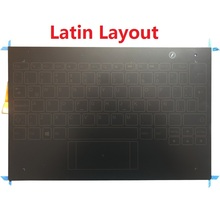 New Latin Keyboard for Lenovo Yoga Book YB1-X90L YB1-X90F LA Keyboard Assembly