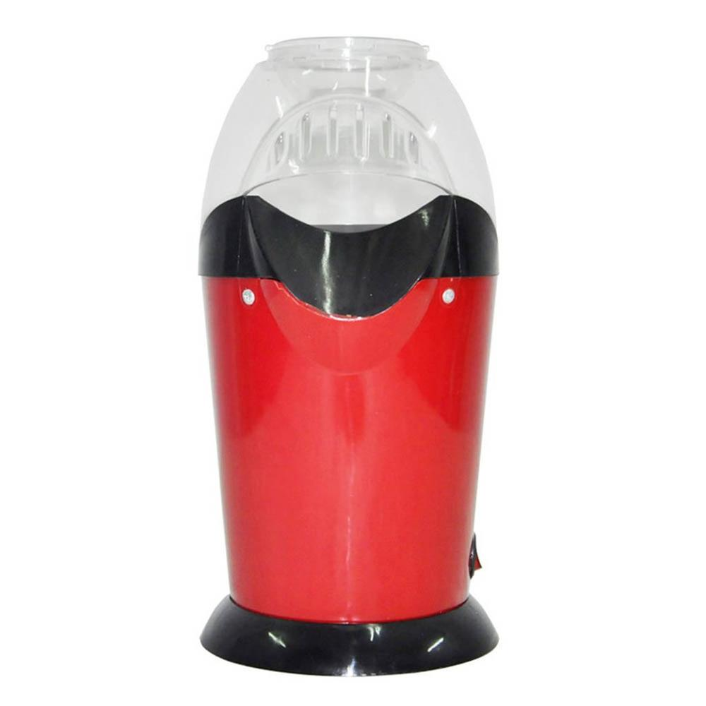 Popcorn Machine Hot Air Popcorn Maker Wide-Caliber Design With Cup Mini Electric Corn Machine EU Home