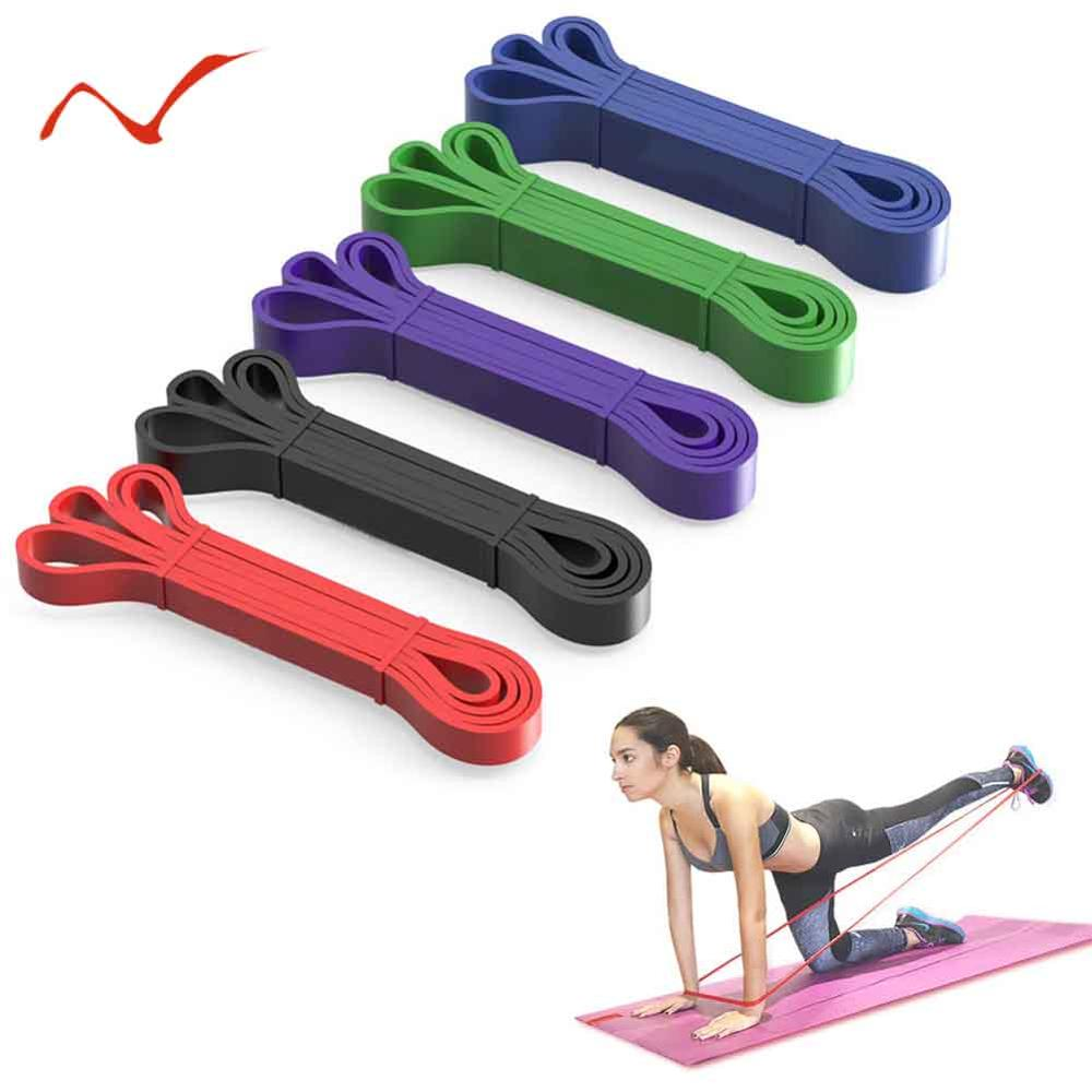 Multifunction Elastic Pull Up Assist Bands Heavy Duty Resistance Bands For Powerlifting Body Stretching Fitness Pilates Workout