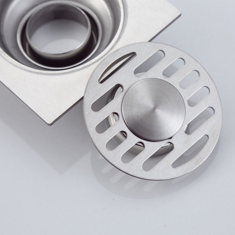 1Pc Smell Proof Shower Floor Siphon Drain Cover Sink Strainer Bathroom Plug Trap Water Drain Filter Kitchen Sink Accessories