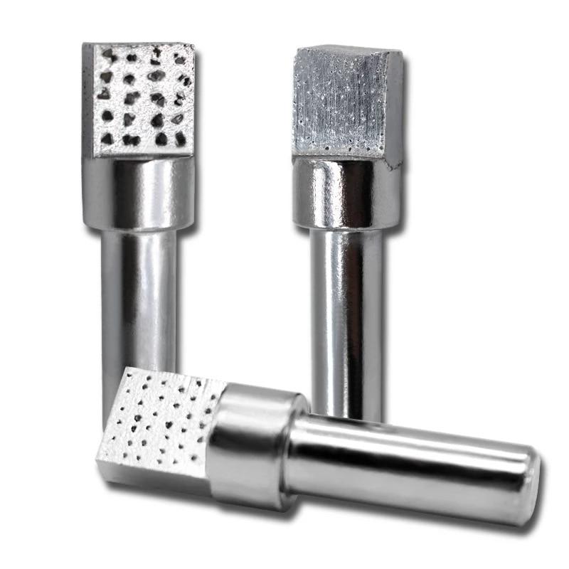 Diamond Grinding Wheel Dresser Square Head Grinding Disc Wheel Stone Dresser Pen Knife For Wood Working Abrasive Grinder Tools