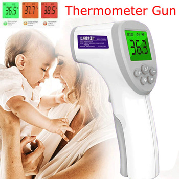 Non-Contact Infrared Digital IR Infrared Temperature Baby Forehead Thermometer Gun for Infant Kids Adult Toddler