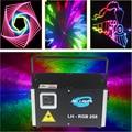 ILDA maping 3W RGB luz láser a todo color para coches Proyector láser para la exposición de coches y otros eventos