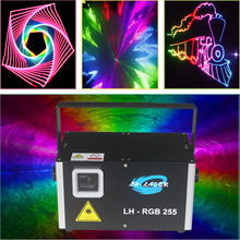 ILDA maping 3W RGB rgb full color laser light for Cars Laser projector for Car Expo and other events